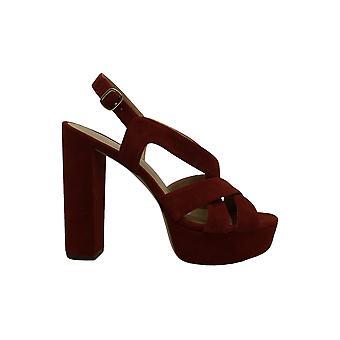 Michael Michael Kors mujeres's zapatos Audrina cuero abierto dedo del...