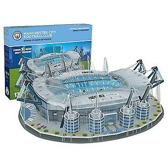 Manchester City FC Eithad Football Stadium 3D Jigsaw Puzzle