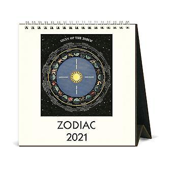 Cavallini & Co Signs of the Zodiac Desk Calendar 2021