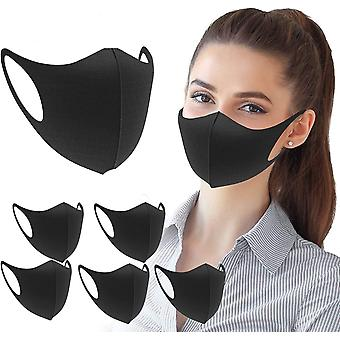 Fashion cloth fabric washable face protection earloop unisex 6 parks