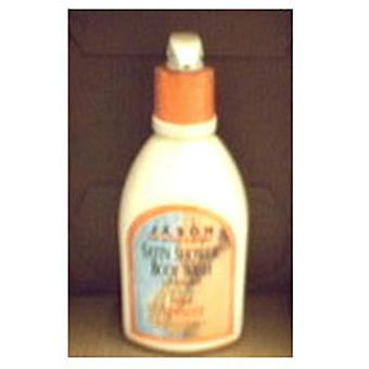 Jason Natural Products Body Wash Satin, Apricot 30 FL Oz