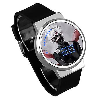 Impermeable Luminoso LED Digital Touch Reloj - Tokyo Ghoul #24