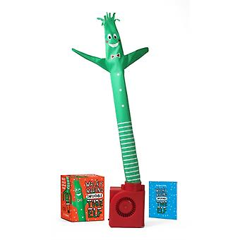 Wacky Waving Inflatable Tube Elf by Stall & Sam