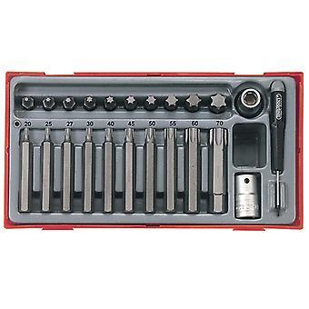 テン TTTX23 23 ピース TX ビット ソケット セットテントTTX23
