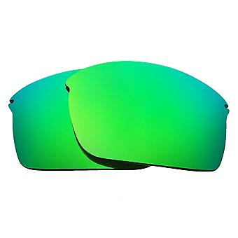 Replacement Lenses for Oakley Wiretap Sunglasses Anti-Scratch Green Mirror