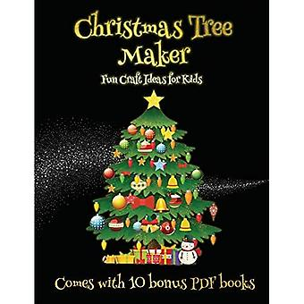 Fun Craft Ideas for Kids (Christmas Tree Maker)