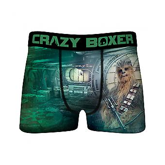 Star Wars Chewbacca Co-Pilot Men's Crazy Boxer Briefs
