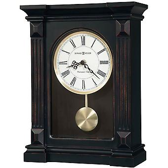 Howard Miller Mia Mantel Clock - Worn Black