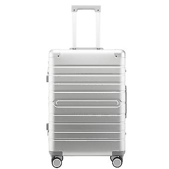 Carrylove Aluminum Hand Luggage Spinner Metal Large Hard Trolley Suitcase With
