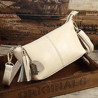 High-quality Cow Leather Small Crossbody Shell Bag, Mini Fashion Shoulder Bag
