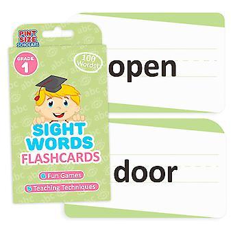 Näky sanat Flashcards, ensimmäinen luokka