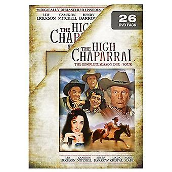 High Chaparral: Complete Collection [DVD] Usa:n tuonti