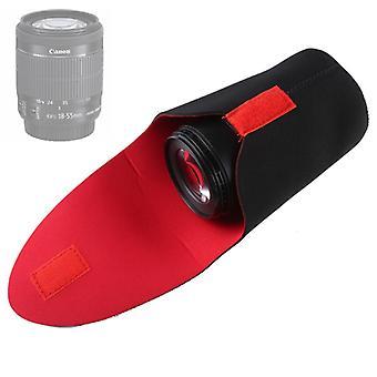 SLR Camera Lens Pakket Verdikking Schokbestendige Neoprene Lens Opslag Zak Sticky Deduction, Diameter: 80mm, Hoogte: 130mm