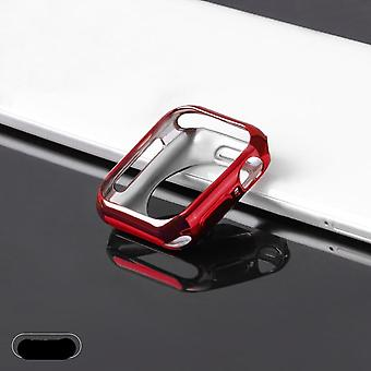 Watch Case Ultra-tunn Plated Watch Case Soft Transparent Tpu Cover