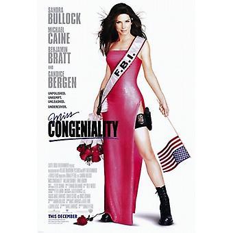 Miss omgængelighed film plakat (11 x 17)