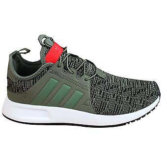 Adidas Originals X PLR Juniors Kids Trainers Green Textile Lace Up CP9796 B6B