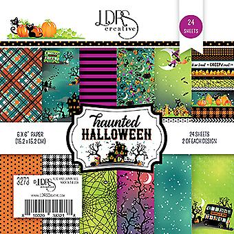 LDRS Creative Haunted Halloween 6x6 Inch Paper Pack