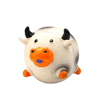 Pet Suppliesdog Toys Gnaw And Bite Sound Toys Chicken Cow Pig Shape