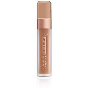 L'Oréal Les Chocolats Ultra Matte Liquid Lipstick 7,6ml - 860 Ginger Bomb