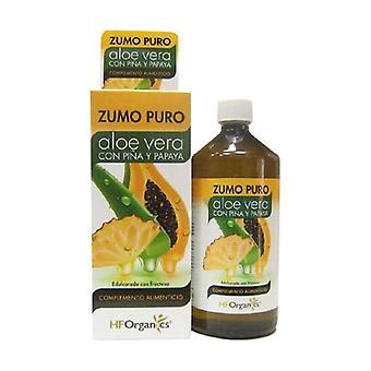 Pure Aloe Vera Pineapple and Papaya Juice 1 L