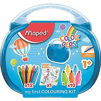 Maped 897416 color'peps my first jumbo colouring activity case (age 1+)