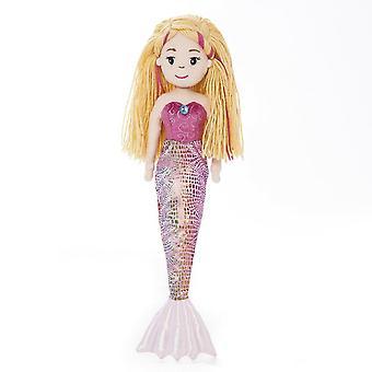Sea sparkles 13346 18-inch mermaid melody plush