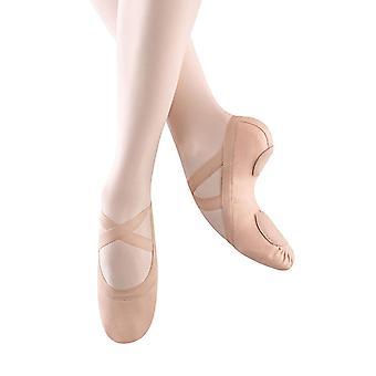 Bloch Dance Women's Synchrony Split Sole Stretch Canvas Ballet Slipper/Shoe, ...