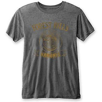 Ramones Forest Hills Grey Official Tee T-Shirt Unisex