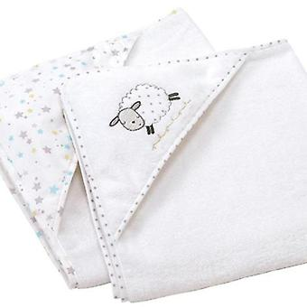 Silvercloud counting sheep cuddle robe 2pk
