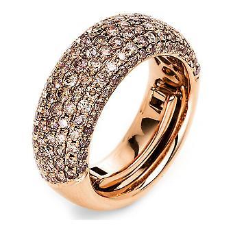 Luna Creation Manifesto Ring Pavé 1L146R854-3 - Largura do anel: 54