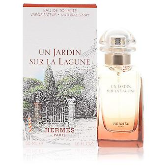 Un Jardin Sur La Lagune Eau De Toilette Spray By Hermes 1.6 oz Eau De Toilette Spray