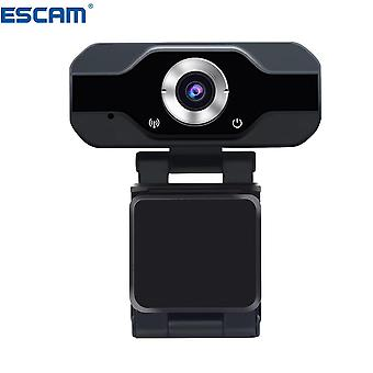 ESCAM PVR006 1080p 2MP H.264 Portable Mini Webcam HD 1080p Web PC Camera Convenient Live Broadcast w