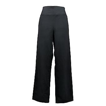Skechers Women's Plus Pants Apparel High Waisted Straight Leg Black A381449