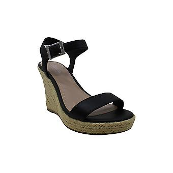 CHARLES BY CHARLES DAVID womens Wedge Sandal Platform, Black, 6 US