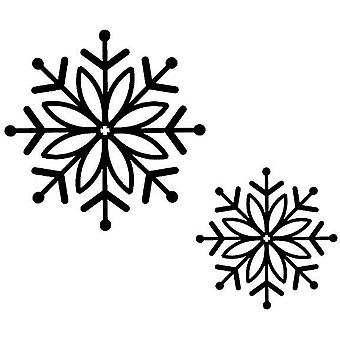Creative Expressions Bold Snowflake 2 Pre Cut Stamps
