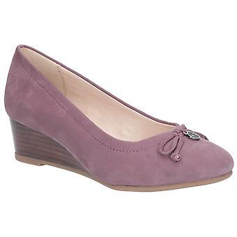 Hush puppies women's morkie charm flat shoe light plum 27380