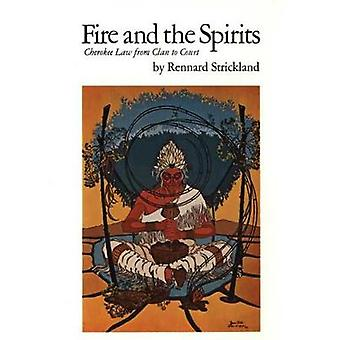 Fire and the Spirits - Cherokee Law from Clan to Court by Rennard Stri