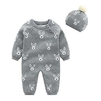 Baby Clothes Set Soft Cotton Knitted Newborn Infant
