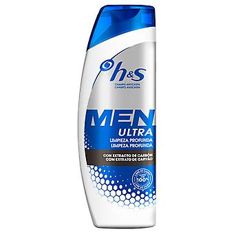 H&S Men's Ultra Cleaning Professional Shampoo 600 ml