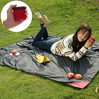 Portable Pocket Camping Mat Folding Camping Mattress Baby Climb Outdoor Ultra-thin Waterproof Beach Mat Camping Picnic Blanket