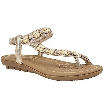 Lotus Shelby Womens Toe Post Sandals