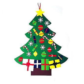 3.1FT Kände julgran prydnader Festival Decor Style B