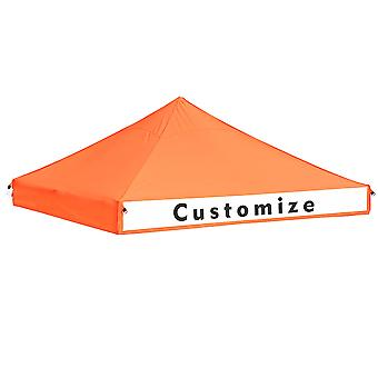 Yescom 10x10 ft EZ Pop Up Canopy Top Replacement Instant Patio Pavilion Gazebo Sunshade Tent 550D Oxford Cover