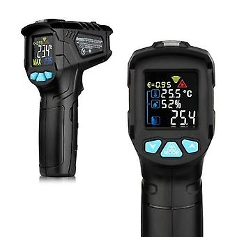 -50~380°C Thermomètre infrarouge numérique industriel Portable Indicateur infrarouge de température LCD