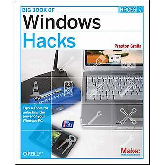 Stor bok med Windows Hacks av Preston Gralla