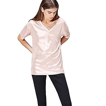 find. 70190 women's t-shirts, Pink, 46 (Size Manufacturer: Large)