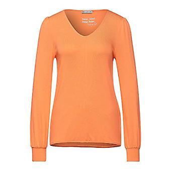 Street One 315904 T-Shirt, Strong Mandarin, 46 Woman