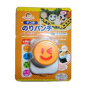 Ansiktsuttryck Sushi Mold Plast Non-stick Sushi Making Kit Orange