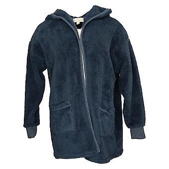 Koolaburra od UGG Women's Sweter Cozy Kudłaty Plush Kardigan Niebieski A386142
