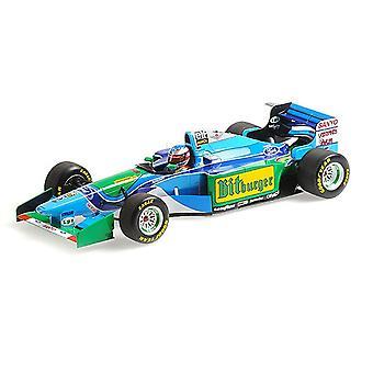 Benetton B194 (Michael Schumacher - Australian GP World Champion 1994) (1:18 scale by Minichamps 510943405)